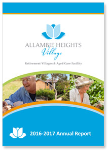 allambie heights village annual report 2017