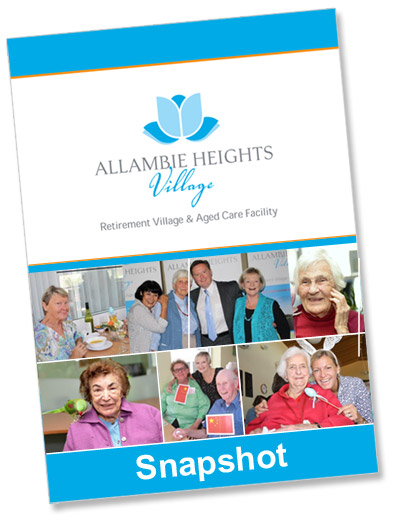 allambie heights village snapshot